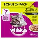 Whiskas Drůbeží výběr ve šťávě kompletní krmivo pro dospělé kočky 24 x 100g