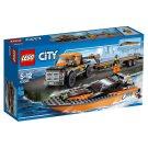Lego City Motorový člun 4x4 60085