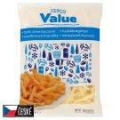 Tesco Value Bramborové hranolky 2,5kg