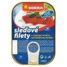 Sokra Sleďové filety v rajčatové omáčce 100g