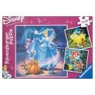 Ravensburger Disney Princess Puzzle 3 x 49 dílků