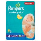Pampers Active Baby Pleny 4 Maxi 82 ks