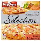 Don Peppe Selection Pizza losos & mozzarela 415g