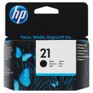 HP Inkoustová kazeta 21 černá