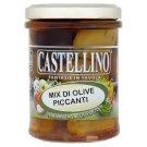 Castellino Směs oliv a chili paprik 180g
