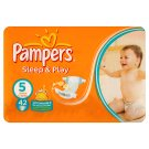 Pampers Sleep&Play Pleny 5 Junior 42 ks