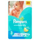 Pampers Active Baby-Dry Dětské jednorázové pleny 3 midi 68 ks