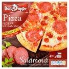 Don Peppe Pizza salámová pečená na kameni 405g