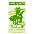 Miss Sporty Pump Up Booster toaletní voda sparkling mimosa & jasmine accord 100ml