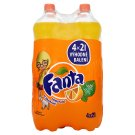 Fanta pomeranč, pomerančová limonáda, 4 x 2l