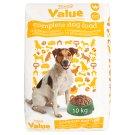 Tesco Value Kompletní krmivo pro dospělé psy s přidaným drůbežím 10kg