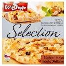 Don Peppe Selection Pizza kuřecí maso & houby Shiitake pečená na kameni 435g