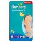 Pampers Active Baby Pleny 6 Extra Large 64 ks