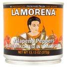 La Morena Jalapeno papričky plněné sýrem v pikantní tomatové omáčce 372g