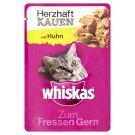 Whiskas Gusto Kuřecí maso kompletní krmivo pro dospělé kočky 85g
