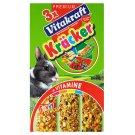 Vitakraft Kräcker 3x Funny Fitness krmivo pro zakrslé králíky 168g
