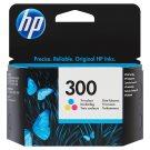 HP Inkoustová kazeta 300 tříbarevná