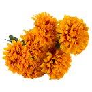 Kytice chryzantém s zimostrázem pomerančová 9 květů