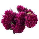 Kytice chryzantém s zimostrázem fialová 9 květů
