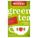 Mistral Zelený čaj máta a malina 20 x 1,5g