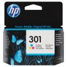 HP Inkoustová kazeta 301 tříbarevná