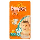 Pampers Sleep&Play Pleny 3 Midi 58 ks