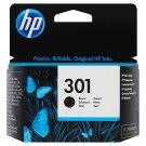 HP Inkoustová kazeta 301 černá