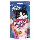 Purina Felix Party mix pochoutka s příchutí kuřete, sýru a krůty 60g