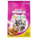 Whiskas Junior Polštářky s kuřecím masem kompletní suché krmivo pro kočky 300g