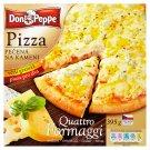 Don Peppe Pizza quattro formaggi pečená na kameni 395g