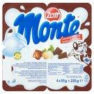 Zott Monte Mléčný dezert s čokoládou a lískovými oříšky 4 x 55g