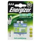Energizer Power plus AAA 1,2V 700mAh NiMH nabíjecí baterie 2 ks